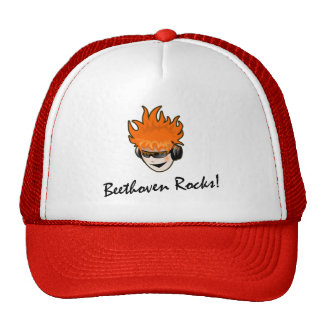 Beethoven Rocks! Mesh Hats