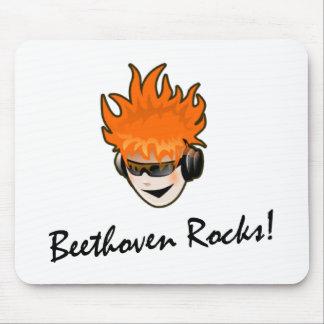 Beethoven Rocks Mousepads
