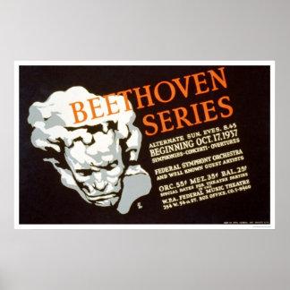 Beethoven Series 1937 WPA Print
