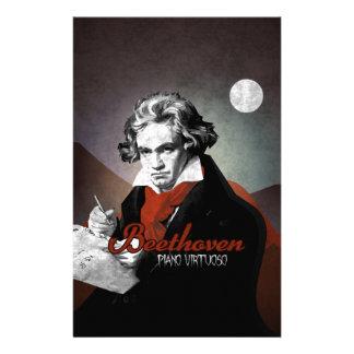 Beethoven virtuous piano black