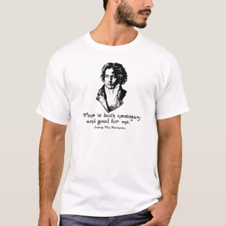 Beethoven - Wine T-Shirt