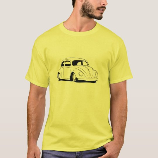Beetle Low Car Classic Vintage Hiking Duck T-Shirt