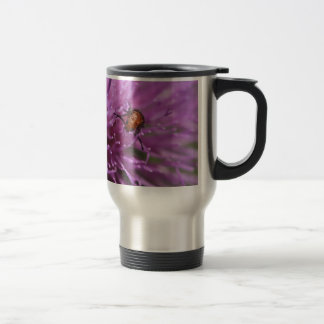 Beetle on a Milk Thistle Travel Mug