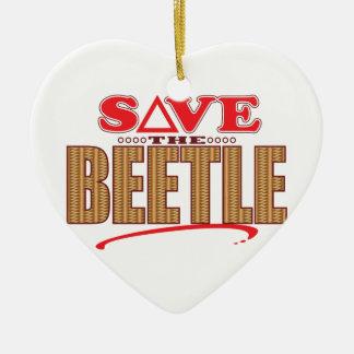 Beetle Save Christmas Ornament