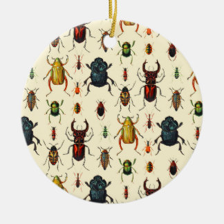Beetle Varieties Christmas Ornament