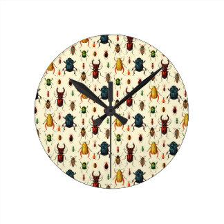 Beetle Varieties Clocks