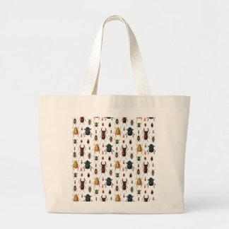 Beetle Varieties Jumbo Tote Bag