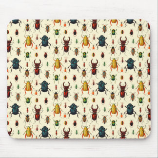 Beetle Varieties Mouse Mat
