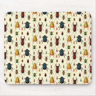 Beetle Varieties Mouse Pad