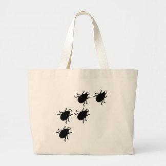 beetles icon jumbo tote bag