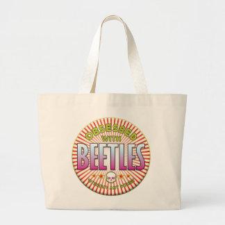 Beetles Obsessed R Canvas Bag