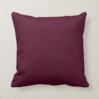 Beetroot Pink Burgundy Throw Cushion
