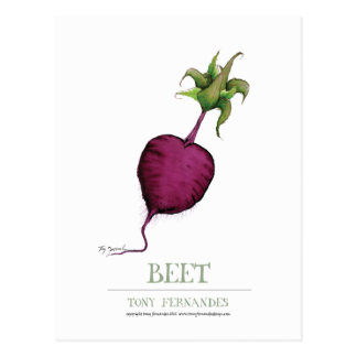 beetroot, tony fernandes postcard
