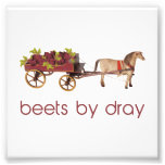 Beets by Horse Drawn Dray Photo Art