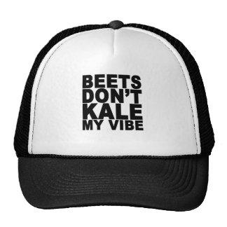 Beets Dont Kale My Vibe T-Shirt.png Cap