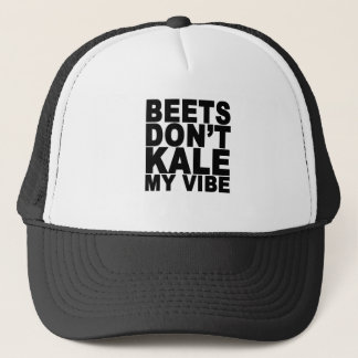 Beets Dont Kale My Vibe T-Shirt.png Trucker Hat