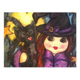 Beewitching Friends Postcard