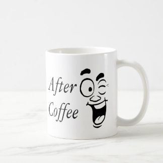 Before and After My Morning Coffee Customize Coffee Mug