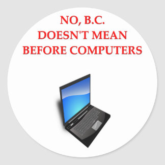 before computers sticker