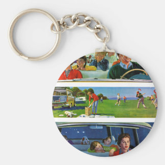 Before, During & After Picnic Key Ring