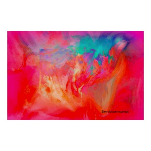 Before Evening, Abstract Poster