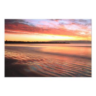 Before Sunrise at First Beach, Newport RI Photographic Print