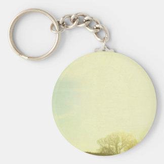 Before Sunrise Basic Round Button Key Ring