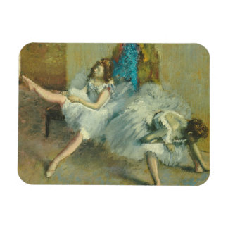 Before the Ballet, 1890-1892 (oil on canvas) Vinyl Magnet