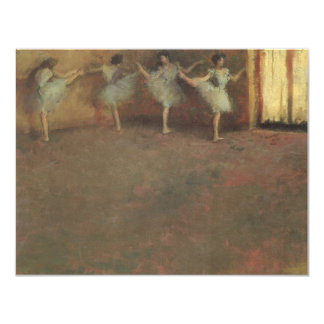 Before the Ballet by Edgar Degas, Vintage Fine Art Card