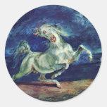 Before The Lightning Frightened Horse Sticker