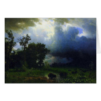 Before the Storm by Bierstadt Card