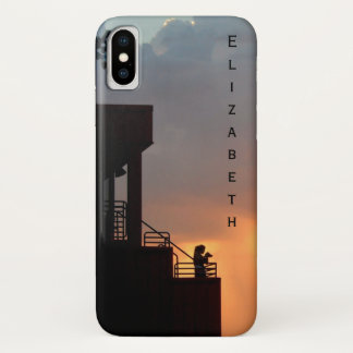 Before the Storm Sunset Clouds Art Photograph iPhone X Case