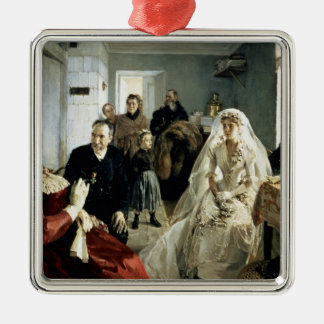 Before the Wedding, 1880s Christmas Ornament