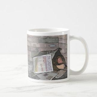 beggar blog Mug