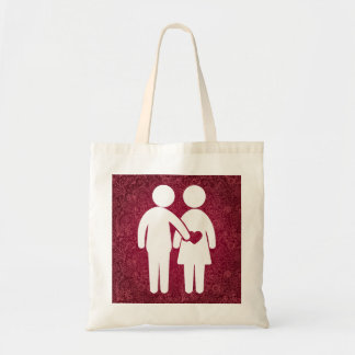 Begging Couples Minimal Tote Bag