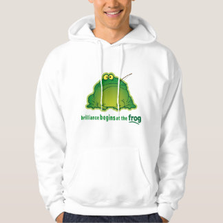 Begin At The Frog Funny Orchestra Joke Hoodie