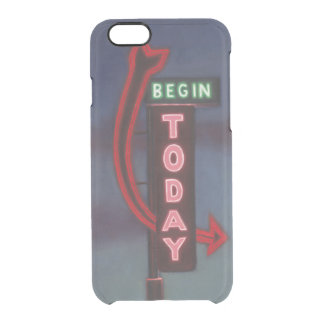 Begin Today 2009 Clear iPhone 6/6S Case