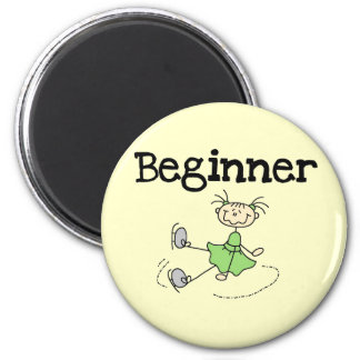 Beginner Ice Skating T-shirts and Gifts Refrigerator Magnets