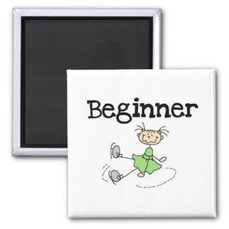 Beginner Ice Skating T-shirts and Gifts Refrigerator Magnet