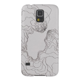 Beginners (topographic) Katie Galaxy S5 Covers