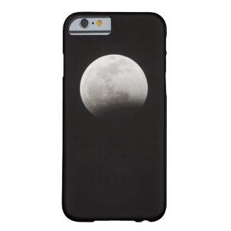 Beginning of a Total Eclipse of the Moon Barely There iPhone 6 Case
