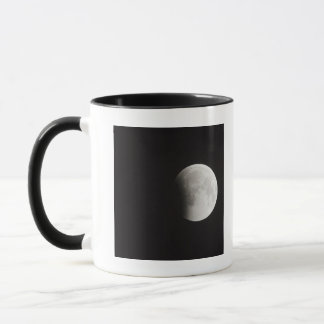 Beginning of a Total Eclipse of the Moon Mug