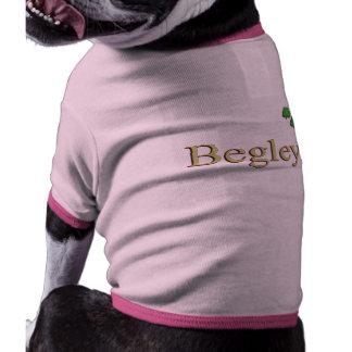 Begley Family Name Dog Tee
