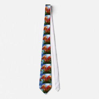 Begonia Flowers Tie