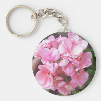 Begonia Keychain