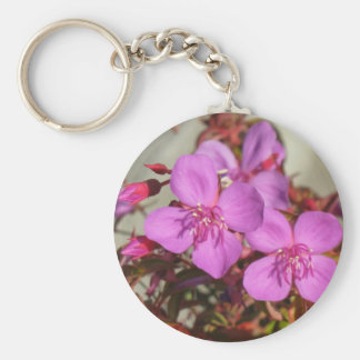Begonias key chain