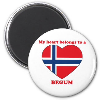Begum 6 Cm Round Magnet