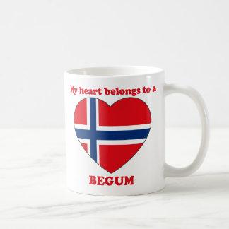 Begum Basic White Mug