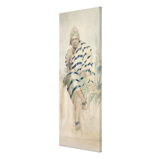 Behanzin  The Last King of Dahomey Canvas Prints