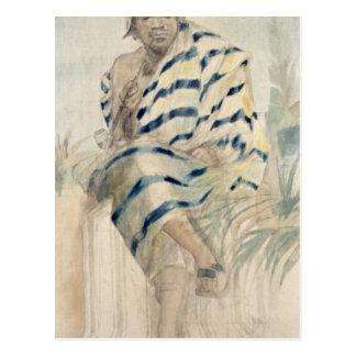 Behanzin  The Last King of Dahomey Postcard